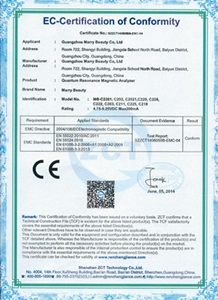 certyfikat human body scanner